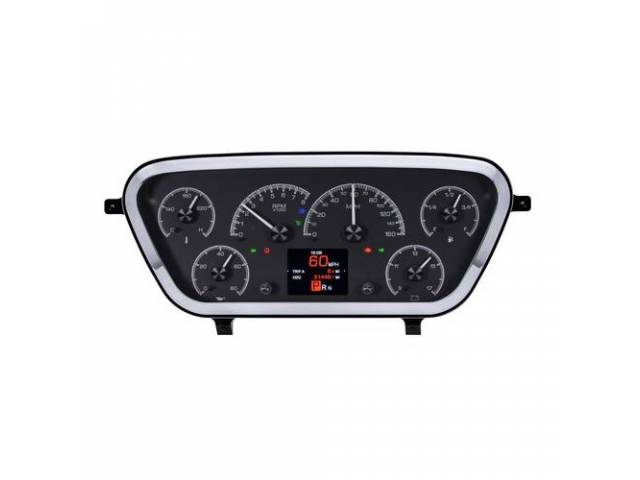 INSTRUMENT CLUSTER ASSY Custom 6 Gauge HDX by