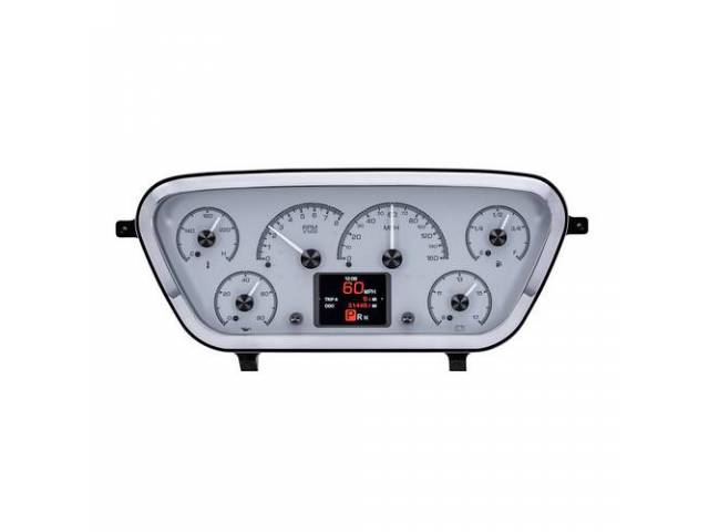 INSTRUMENT CLUSTER ASSY, Custom 6 Gauge, HDX by