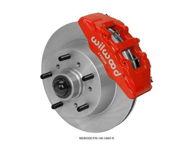 FRONT DISC BRAKE CONVERSION KIT, WILWOOD CLASSIC SERIES
