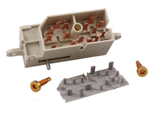 SWITCH ASSY, IGNITION, REPLACEMENT STYLE, incl mounting hardware,