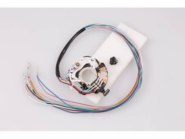 SWITCH ASSY, TURN SIGNAL, REPLACEMENT