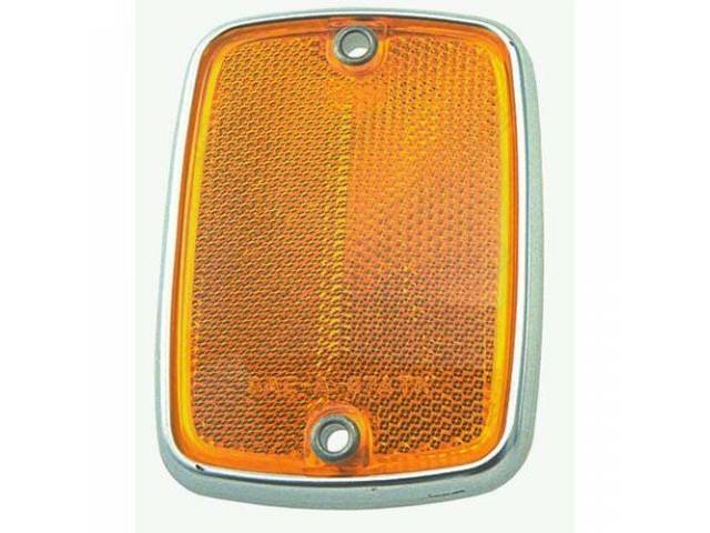 REFLECTOR ASSY BODY AMBER ORIGINAL FORD TOOLING