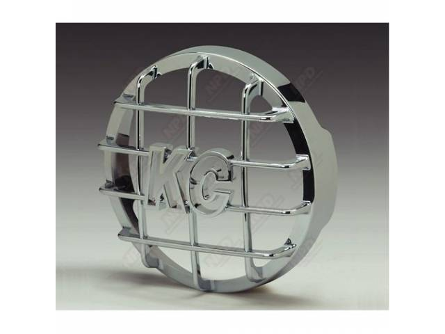 ROCK SHIELD KC DAYLIGHTER 6 INCH ROUND ABS-PLASTIC