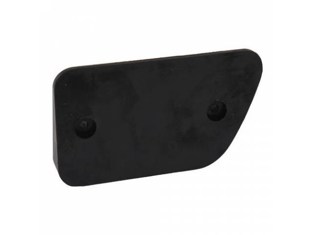 GASKET Body Reflector LH repro black rubber