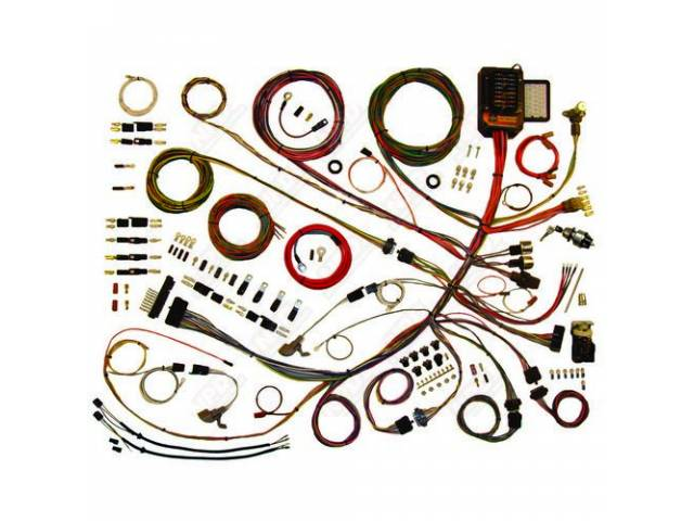 COMPLETE HARNESS ASSY Classic Update The kit boasts