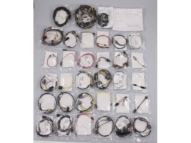 WIRING HARNESS SUPER KIT, COMPLETE WIRING FOR STOCK