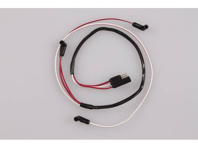 WIRE ASSY, Engine Gauge Feed, from firewall, repro