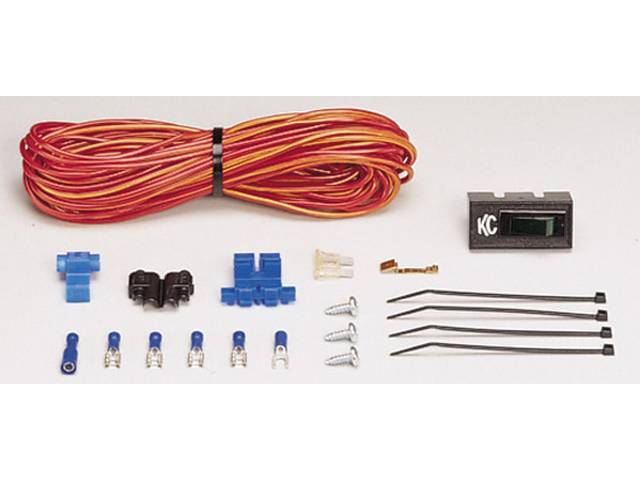 SWITCH AND WIRING KIT, KC HILITER