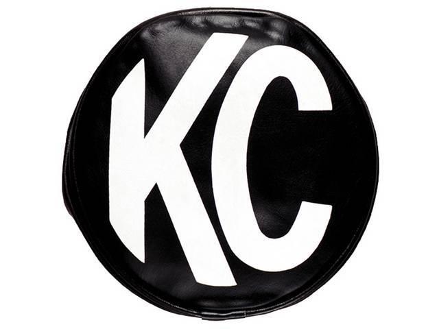 COVER, KC HILITER, SOFT VINYL, 6 INCH ROUND,