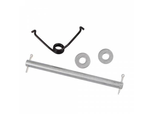 SPRING AND PIN KIT Hood Latch Handle repro
