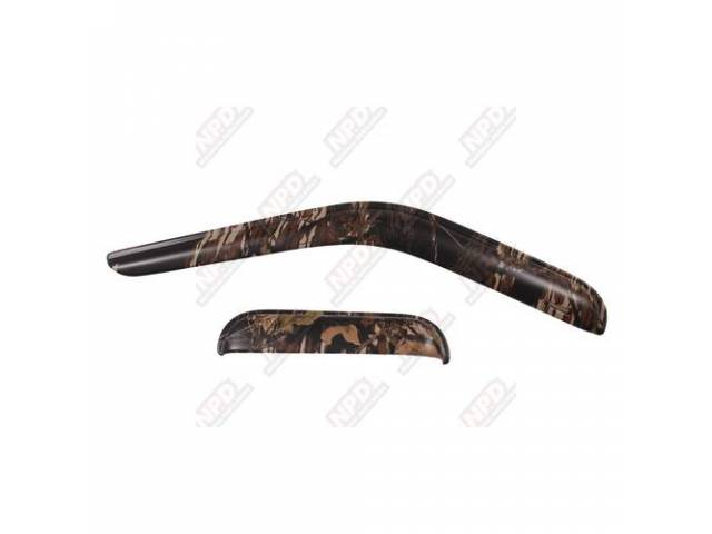 SIDE WIND DEFLECTOR MOSSY OAK BREAK-UP FRONT PROTECTION