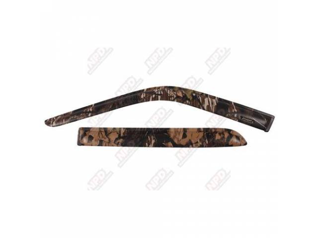 SIDE WIND DEFLECTOR, MOSSY OAK BREAK-UP, FRONT, PROTECTION