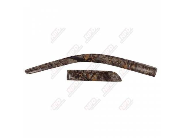 SIDE WIND DEFLECTOR REALTREE HARDWOODS FRONT PROTECTION FROM