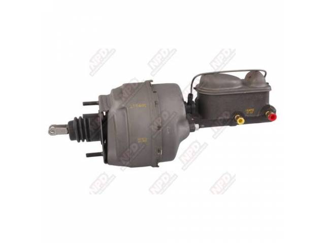 BOOSTER ASSY, POWER BRAKE, REBUILT