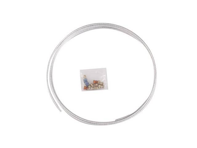 TUBE COIL KIT, Fuel or Brake Line, 1/4