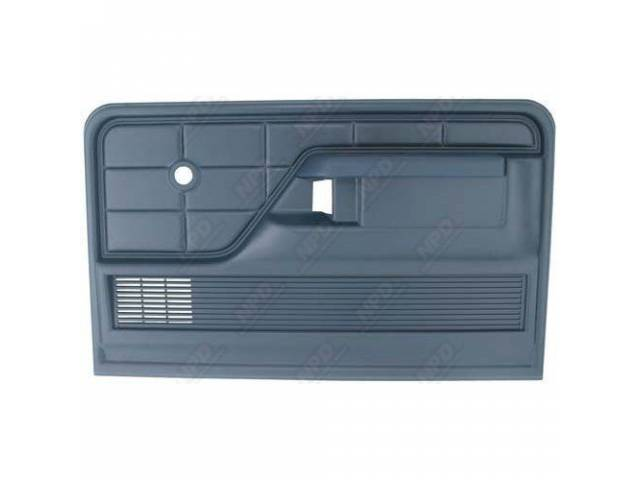 DOOR PANELS BLUE PAIR INCLUDES ARM REST AND
