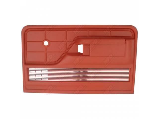 DOOR PANEL, RED, *** GOTO F-23942-43B ***, RH,