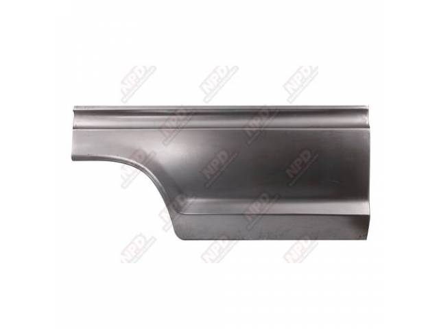 QUARTER PANEL REPAIR SECTION, FRONT, RH, 26 INCH