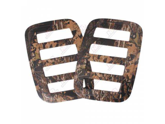 SIDE WINDOW COVER, MOSSY OAK BREAK-UP, ENHANCED BODY