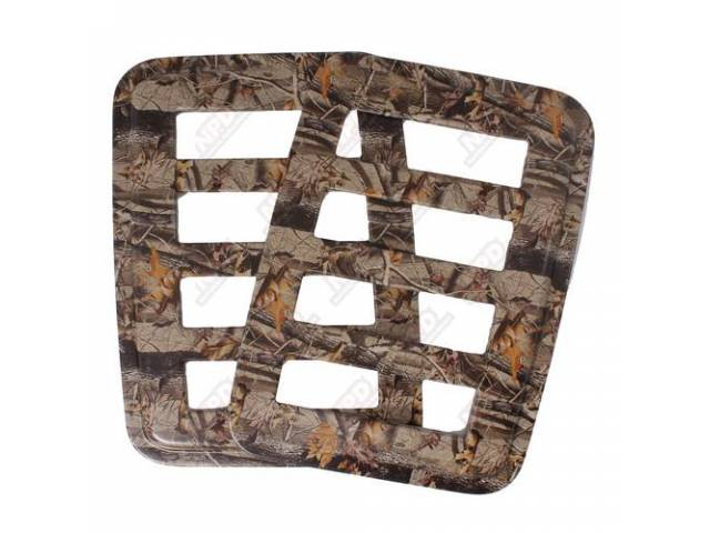 SIDE WINDOW COVER, REALTREE HARDWOODS, ENHANCED BODY LINES