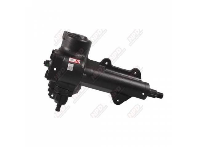 GEAR BOX ASSY, Power Steering, REBUILT, Ford gear,