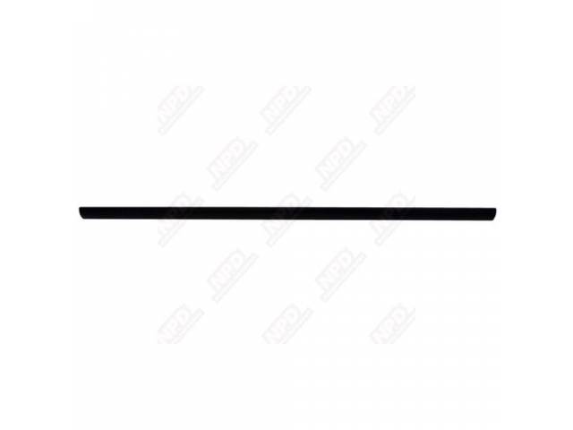 GATE IRONS TAIL GATE PROTECTOR BLACK EXTRUDED ALUMINUM