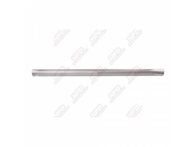 GATE IRONS TAIL GATE PROTECTOR SILVER EXTRUDED ALUMINUM