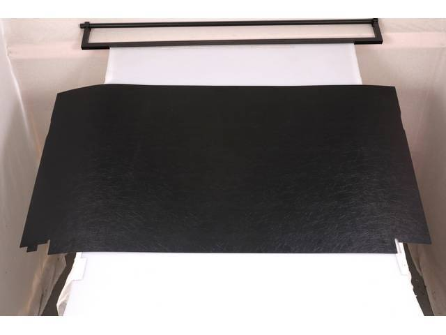 REAR CAB COVER, ABS-PLASTIC