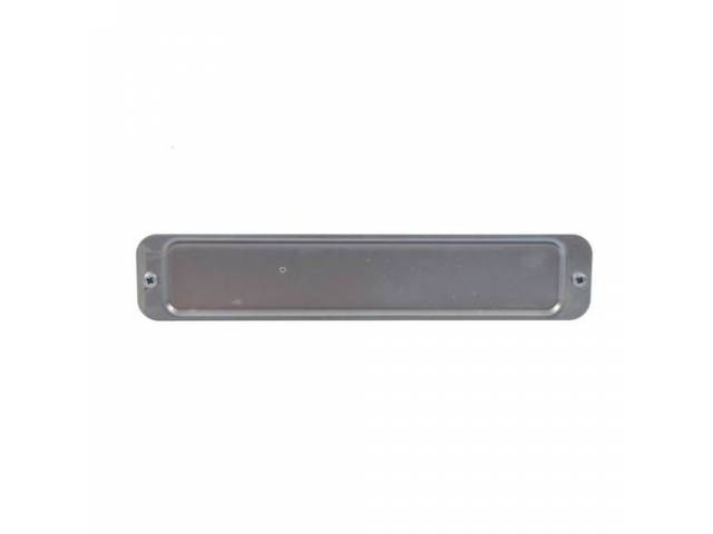 COVER PLATE, Liftgate Access, repro, zinc plated, incl