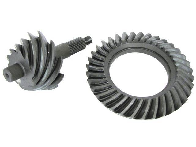 RING AND PINION SET, FORD 9 INCH, 4.56 GEAR
