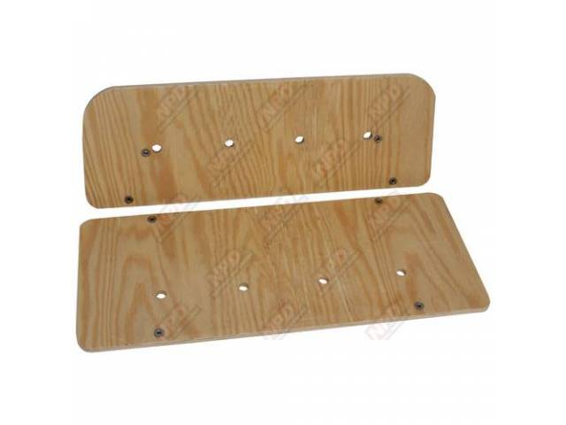 BOARD SET, Rear Seat, replacement seat boards come
