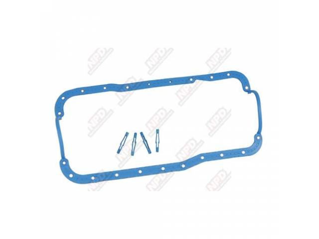 GASKET SET, OIL PAN, ONE PIECE MOLDED RUBBER