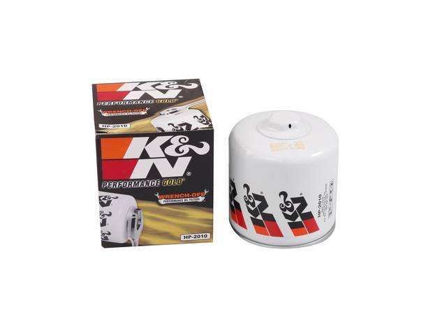 OIL FILTER, K and N, HP Series, replaces
