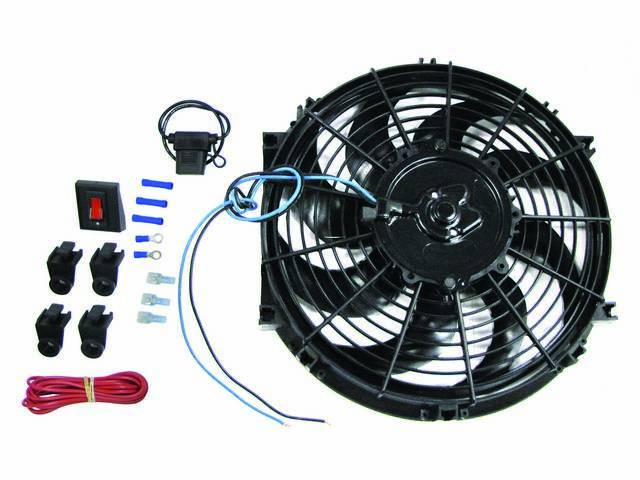 FAN ASSY, ELECTRIC COOLING, 10 INCH DIAMETER, REVERSIBLE,
