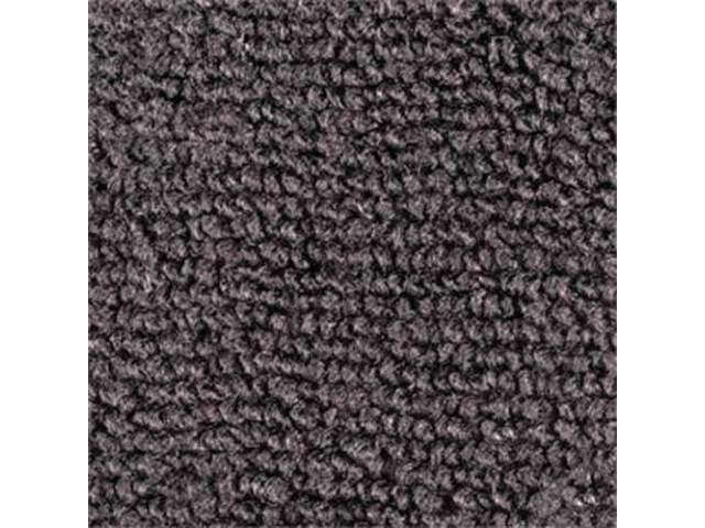 CARPET RAYLON WEAVE CUT AND SEWN CHARCOAL