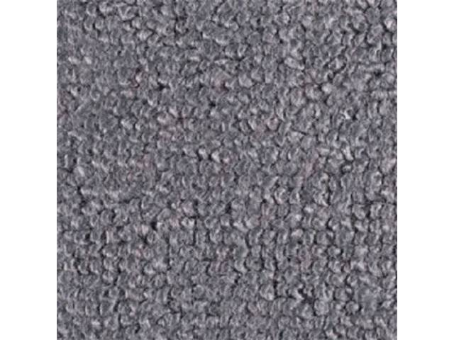 CARPET RAYLON WEAVE MOLDED GUN METAL