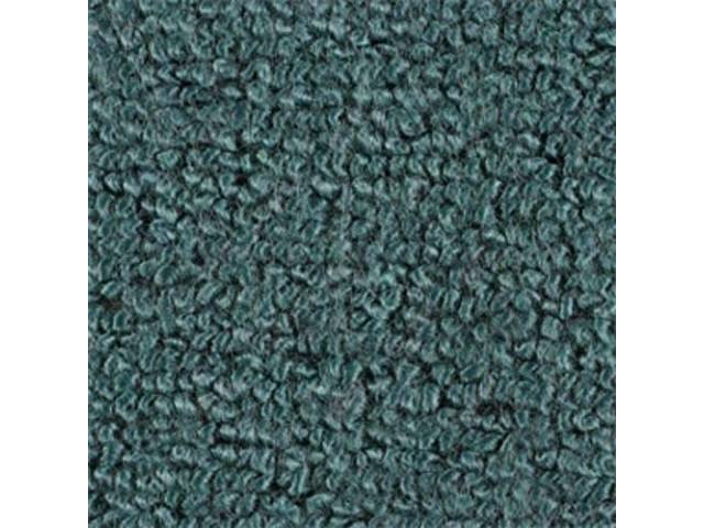 CARPET RAYLON WEAVE MOLDED AQUA
