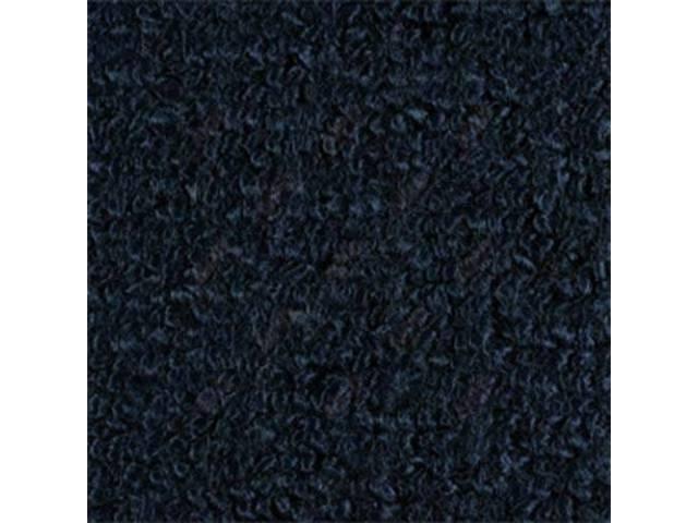 CARPET RAYLON WEAVE MOLDED DARK BLUE
