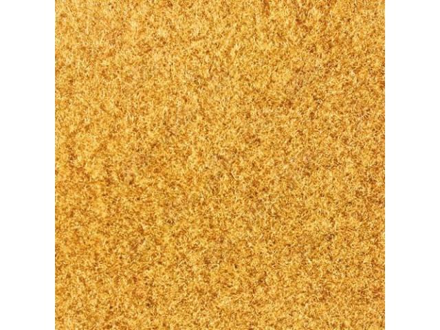 CARPET CUT PILE NYLON MOLDED GOLD