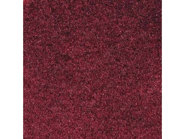 CARPET CUT PILE NYLON MOLDED MAROON