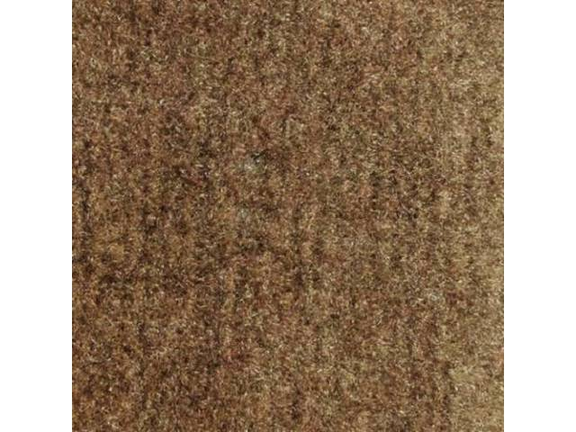 CARPET CUT PILE NYLON MOLDED COGNAC