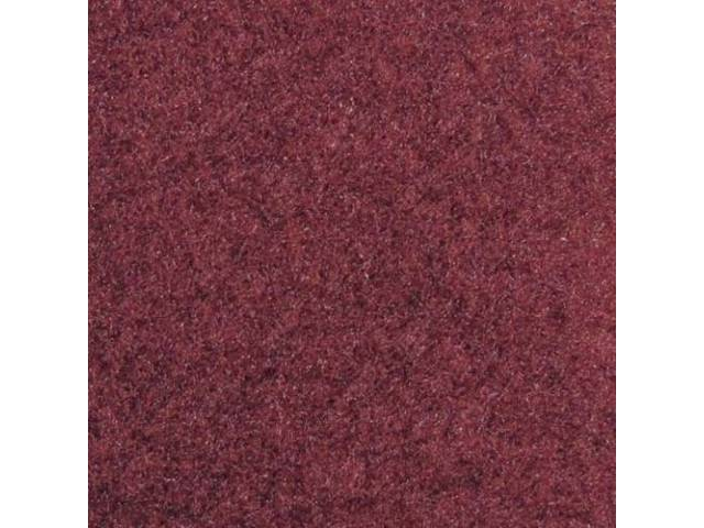 CARPET CUT PILE NYLON MOLDED DARK MAROON