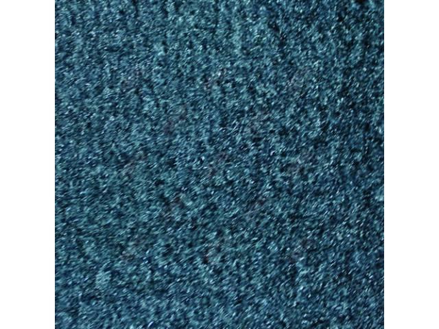CARPET CUT PILE NYLON MOLDED BLUE
