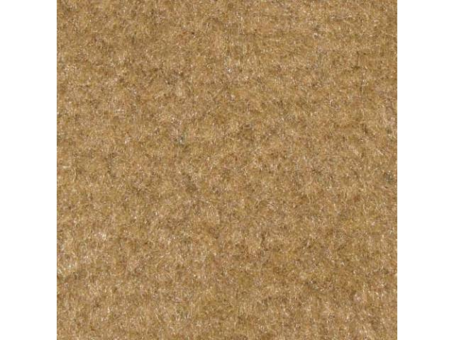 CARPET CUT PILE NYLON MOLDED COMPLETE TAN