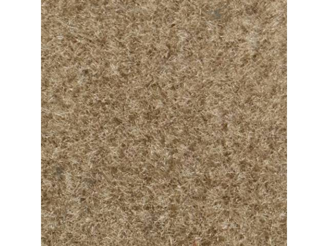 CARPET CUT PILE NYLON MOLDED TAN
