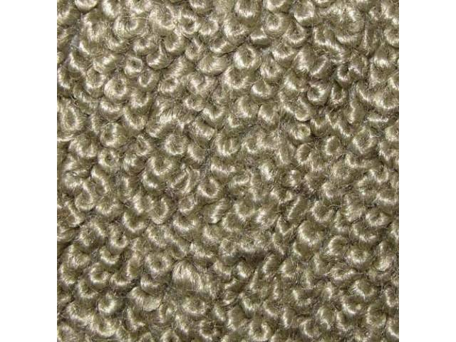 CARPET RAYLON WEAVE MOLDED COMPLETE FAWN