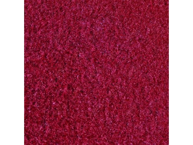CARPET CUT PILE NYLON MOLDED COMPLETE RED GOTO