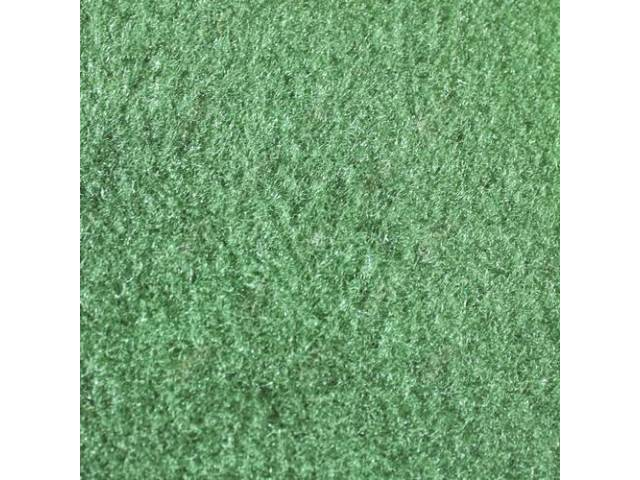 CARPET CUT PILE NYLON MOLDED COMPLETE SAGE GREEN