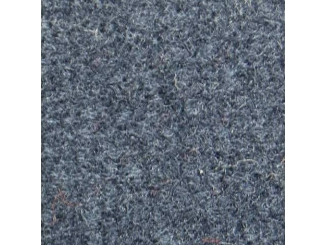 CARPET CUT PILE NYLON MOLDED COMPLETE CRYSTAL BLUE