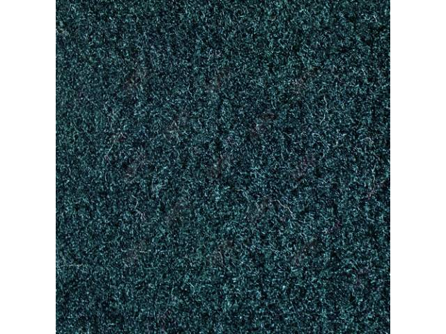 CARPET, CUT PILE NYLON, MOLDED, COMPLETE, CHESTNUT, ***